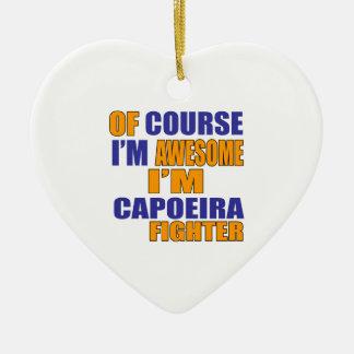 Adorno De Cerámica Por supuesto soy combatiente de Capoeira