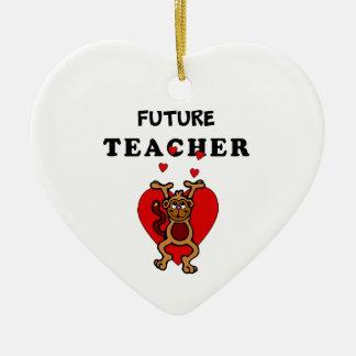 Adorno De Cerámica Profesor futuro