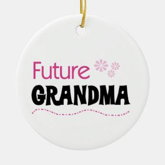 Adorno De Cerámica Regalos futuros de la abuela