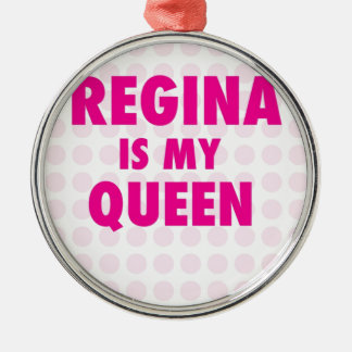 Adorno De Cerámica Regina es mi reina