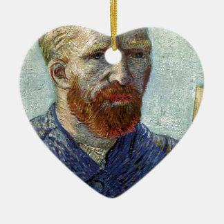 Adorno De Cerámica Retrato de uno mismo de Van Gogh