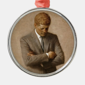 Adorno De Cerámica Retrato oficial de la Casa Blanca de John F.