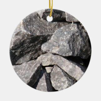 Adorno De Cerámica Roca floja del granito