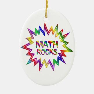 Adorno De Cerámica Rocas de la matemáticas