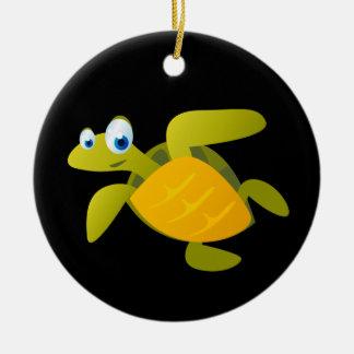 Adorno De Cerámica Sam la tortuga de mar