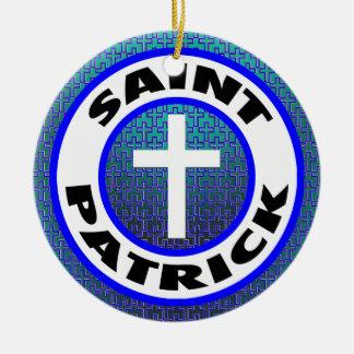 Adorno De Cerámica San Patricio