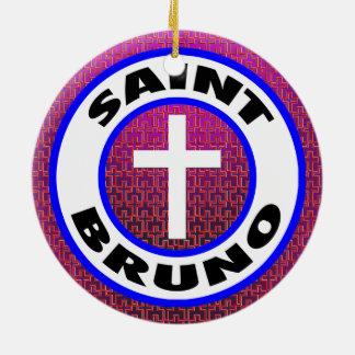 Adorno De Cerámica Santo Bruno