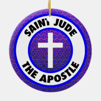 Adorno De Cerámica Santo Jude el apóstol