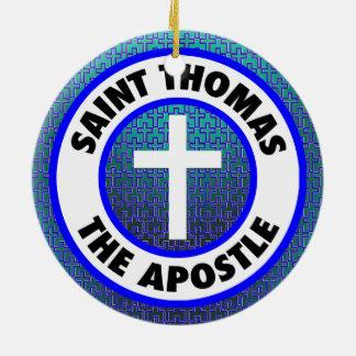 Adorno De Cerámica Santo Tomás el apóstol
