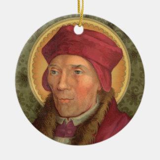 Adorno De Cerámica santos 2for1:  SS. Juan Fisher y Thomas más