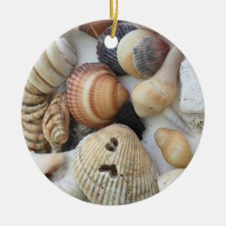 Adorno De Cerámica Seashells a amar