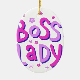 Adorno De Cerámica Señora de Boss