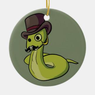Adorno De Cerámica ¡Serpiente del caballero!