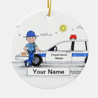 Adorno De Cerámica Sheriff - varón