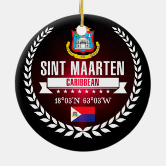 Adorno De Cerámica Sint Maarten