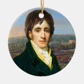 Adorno De Cerámica Sr. Darcy Ornament