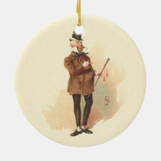 Adorno De Cerámica Sr. Wilkins Micawber David Copperfield