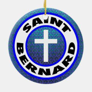 Adorno De Cerámica St Bernard
