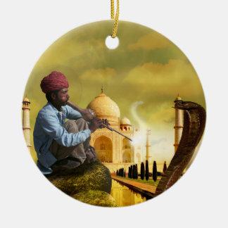 Adorno De Cerámica Taj Mahal