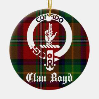 Adorno De Cerámica Tartán del escudo de Boyd del clan