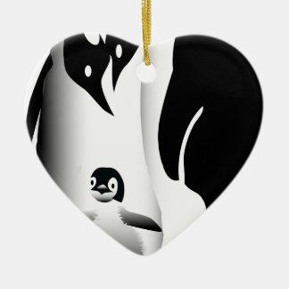 Adorno De Cerámica Taza del pingüino