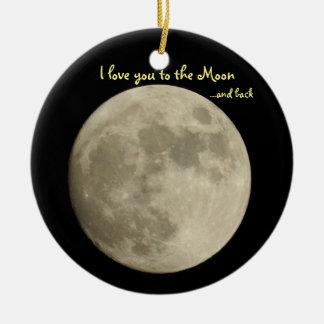 Adorno De Cerámica Te amo a la luna… y trasero
