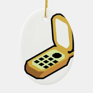 Adorno De Cerámica Teléfono del tirón