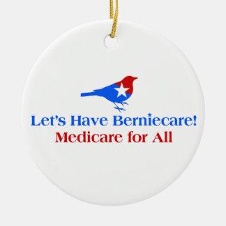 Adorno De Cerámica Tengamos Berniecare - Seguro de enfermedad para