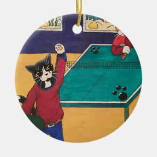 Adorno De Cerámica Tenis de mesa