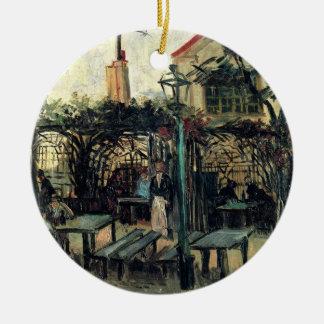 Adorno De Cerámica Terraza de Van Gogh de un café en Montmartre,