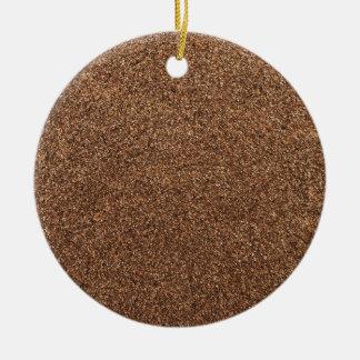 Adorno De Cerámica textura de la pimienta negra