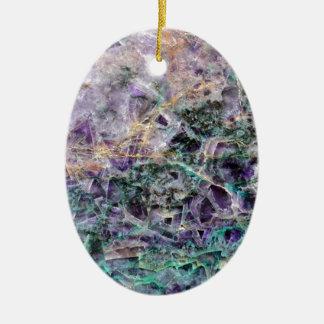 Adorno De Cerámica textura de piedra amethyst
