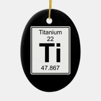 Adorno De Cerámica Ti - titanio