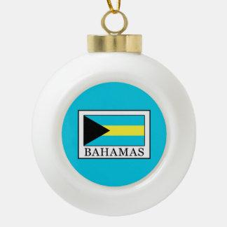 Adorno De Cerámica Tipo Bola Bahamas