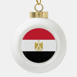 Adorno De Cerámica Tipo Bola Bandera de Egipto