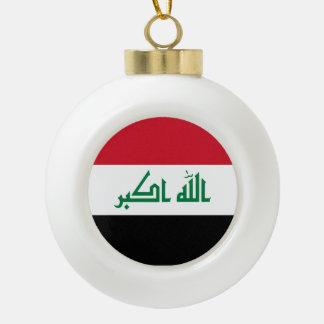 Adorno De Cerámica Tipo Bola Bandera de Iraq
