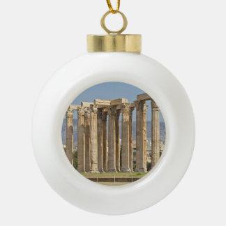 Adorno De Cerámica Tipo Bola del templo de Zeus Olímpico, Atenas, Grecia