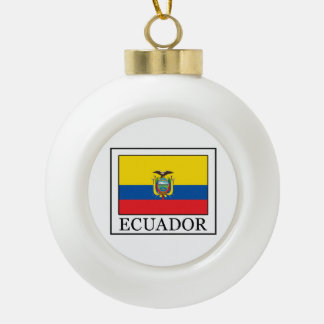 Adorno De Cerámica Tipo Bola Ecuador