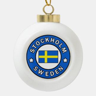Adorno De Cerámica Tipo Bola Estocolmo Suecia