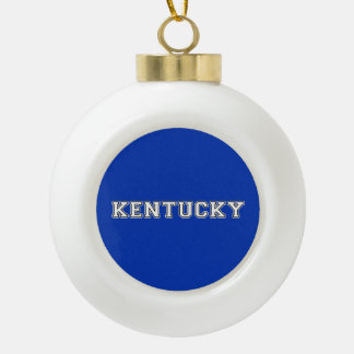 Adorno De Cerámica Tipo Bola Kentucky