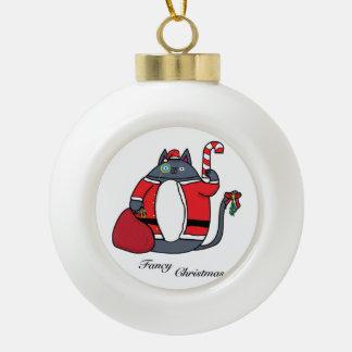 Adorno De Cerámica Tipo Bola Navidad de lujo