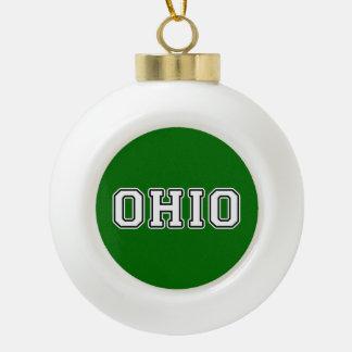 Adorno De Cerámica Tipo Bola Ohio