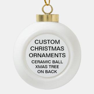 Adorno De Cerámica Tipo Bola Ornamento de cerámica del navidad de la bola del