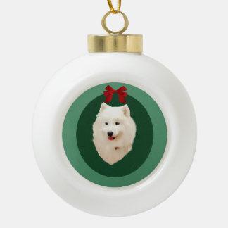 Adorno De Cerámica Tipo Bola Ornamento del día de fiesta del navidad del
