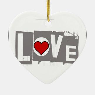 Adorno De Cerámica Todo lo que usted necesita es amor es todo usted