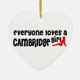Adorno De Cerámica Todos ama a un chica de Cambridge