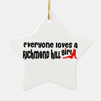 Adorno De Cerámica Todos ama a un chica de Richmond
