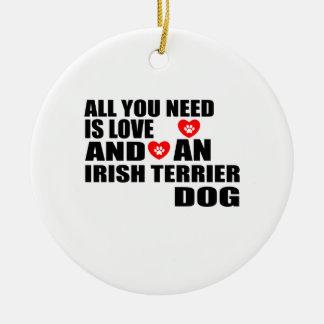 Adorno De Cerámica Todos usted necesita diseños de los perros de
