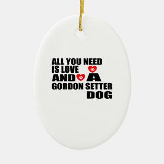 Adorno De Cerámica Todos usted necesita diseños de los perros del