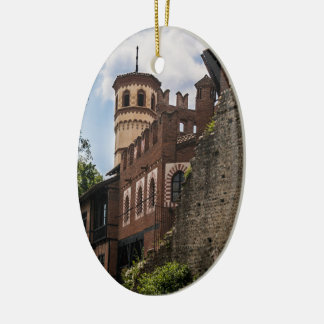 Adorno De Cerámica Torre medieval